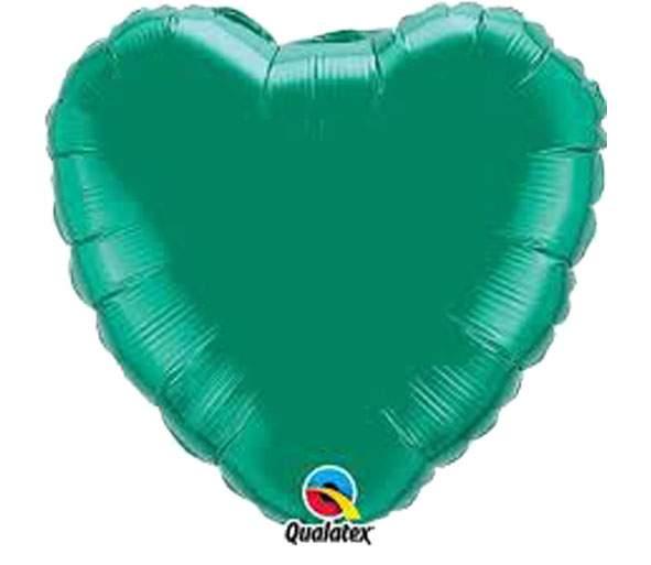 """Μπαλόνι καρδια 18"""" Πράσινη"""