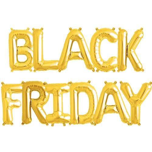 Μπαλόνι Χρυσό Black Friday (11 τεμ)
