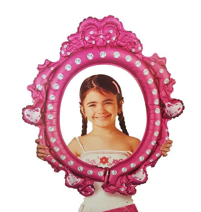 Μπαλόνι Καθρέπτης για selfie Princess 68 εκ
