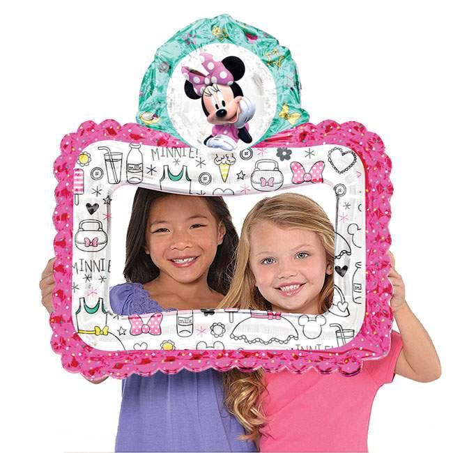 Μπαλόνι Κορνίζα για selfie Minnie Mouse 68 εκ