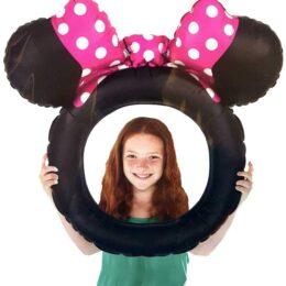 Μπαλόνι για selfie Minnie Mouse αυτάκια