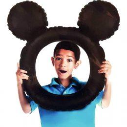 Μπαλόνι για selfie Mickey Mouse αυτάκια 68 εκ