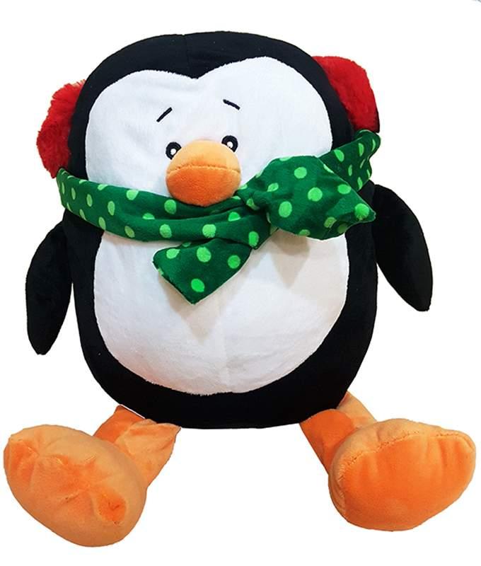 Χριστουγεννιάτικο Λούτρινο μεγάλο Πιγκουινάκι