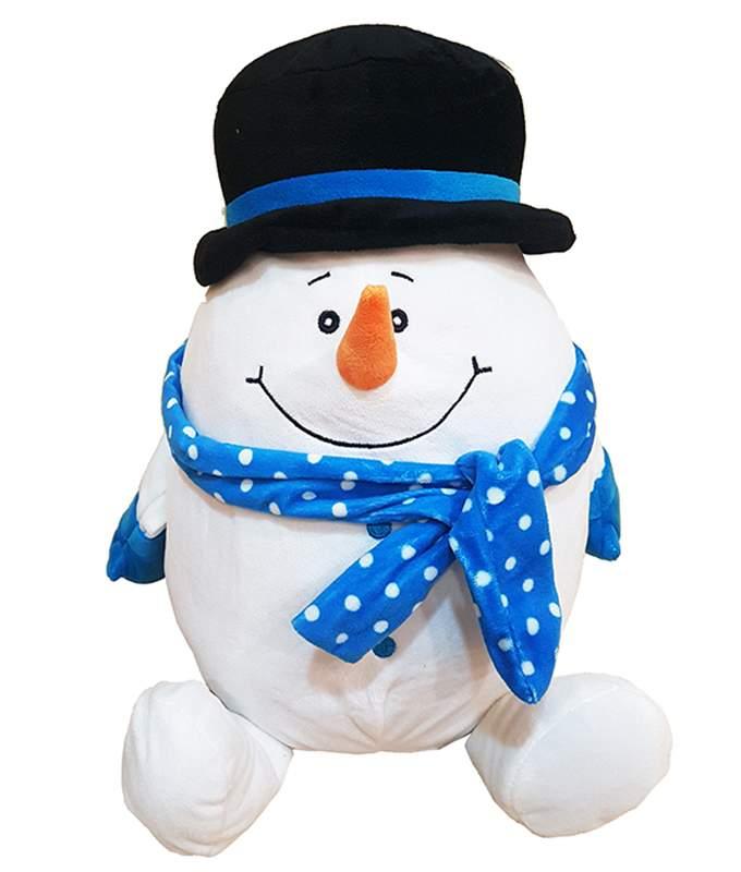 Χριστουγεννιάτικο Λούτρινο μεγάλο Χιονάνθρωπος