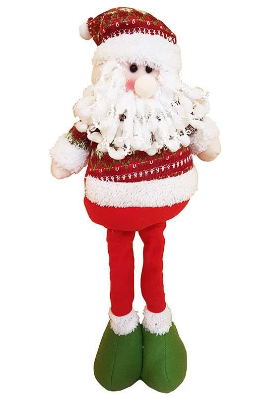 Χριστουγεννιάτικο Λούτρινο Αη Βασίλης με μακριά πόδια