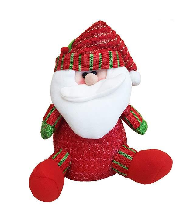 Χριστουγεννιάτικο Λούτρινο Αη Βασίλης καθιστός