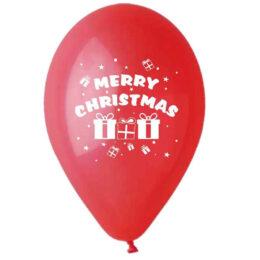"""12"""" Μπαλόνι Merry Christmas δωράκια"""