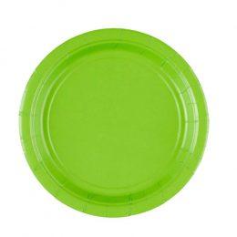 Πιάτα πάρτυ μικρά λαχανί Kiwi (8 τεμ)