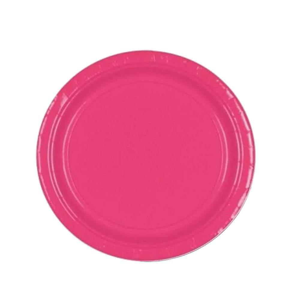 Πιάτα πάρτυ μικρά φούξια (20 τεμ)
