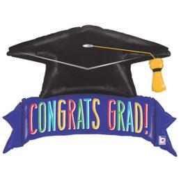 Μπαλόνι αποφοίτησης καπέλο Grad 114 εκ