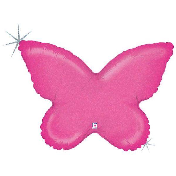 Μπαλόνι φούξια Πεταλούδα