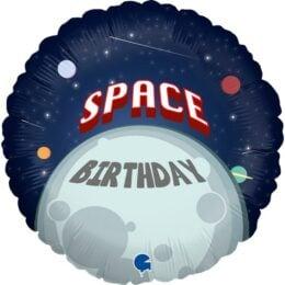 Μπαλόνι Διάστημα Happy Birthday