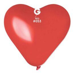 17″ Μπαλόνι καρδιά κόκκινη