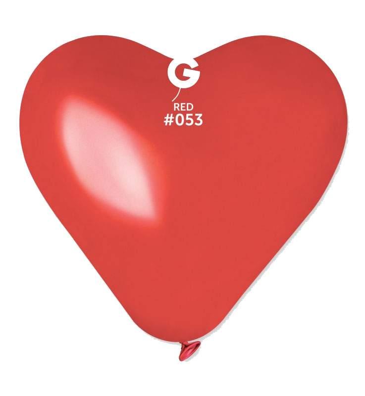 """36"""" Μπαλόνι καρδιά κόκκινη"""