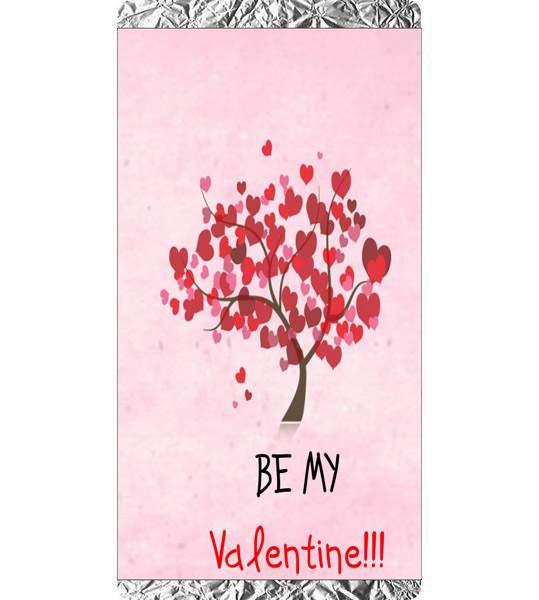 Σοκολάτα Αγάπης Δεντράκι Be my Valentine