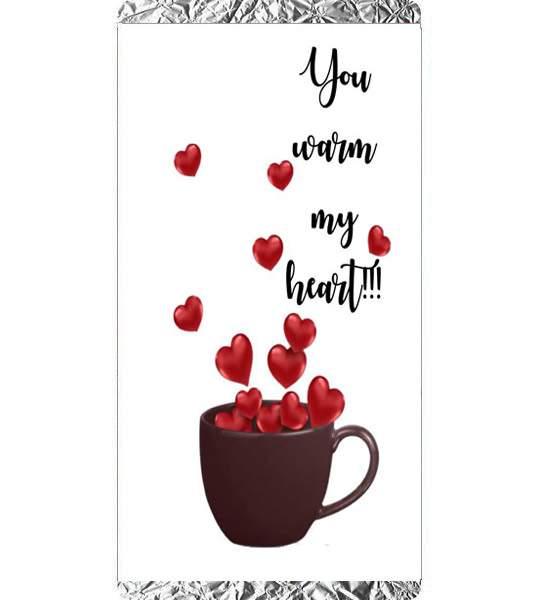 Σοκολάτα Αγάπης you warm my heart