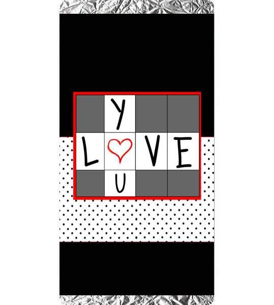 Σοκολάτα Αγάπης Love you