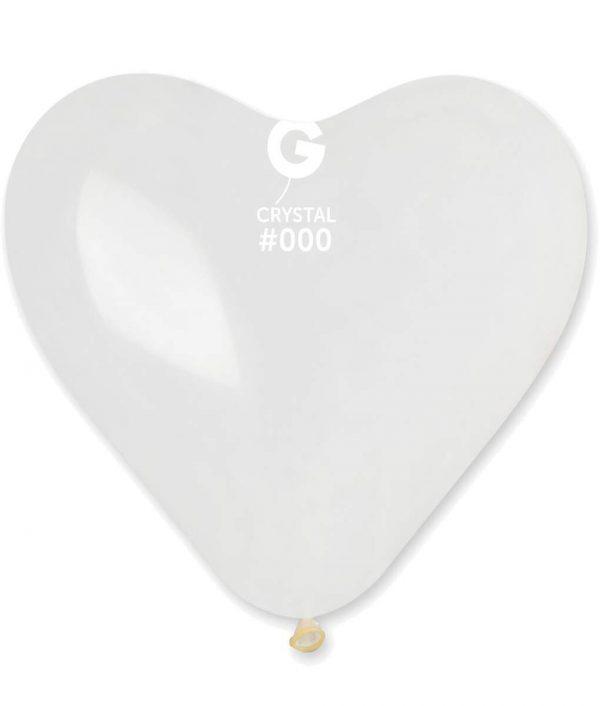 """37"""" Μπαλόνι τεράστια διάφανη καρδιά"""