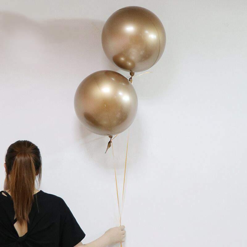 Μπαλόνι στρογγυλό Chrome χρυσό 18''