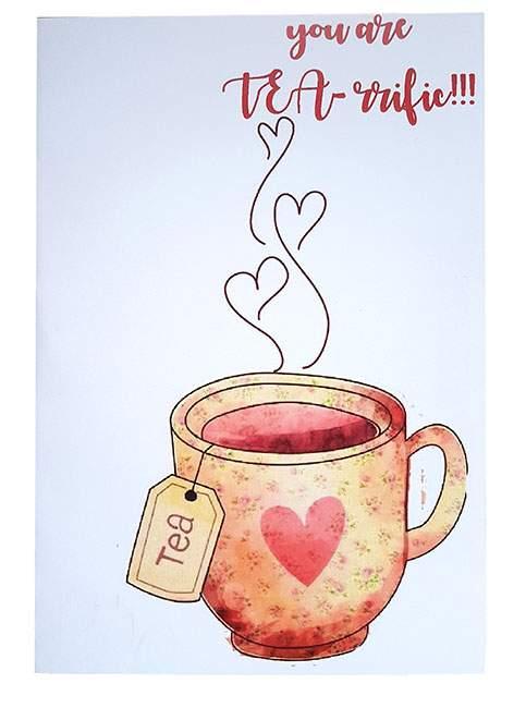 Κάρτα Αγάπης Τσάι αγάπης