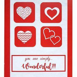 Κάρτα Αγάπης You are simply wonderful