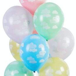 12″ Μπαλόνι τυπωμένο Συννεφάκια