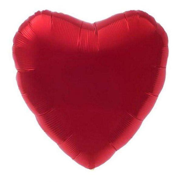 Μπαλόνι κόκκινη καρδιά 18''