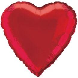 """Μπαλόνι κόκκινη καρδιά 18"""""""