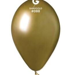 "12"" shiny χρυσό latex μπαλόνι"