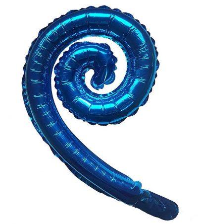 """Μπαλόνι Μπλε Swirling 16"""""""