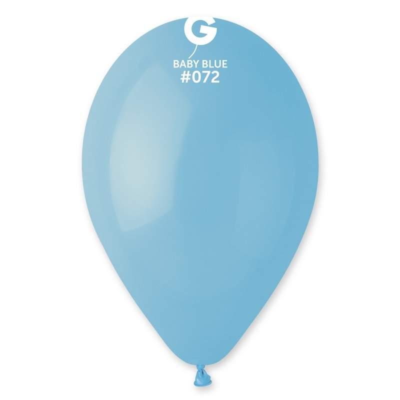 9″ Baby Blue λάτεξ μπαλόνι