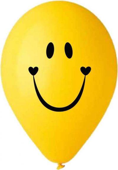 """16"""" Μπαλόνι τυπωμένο Smile face"""
