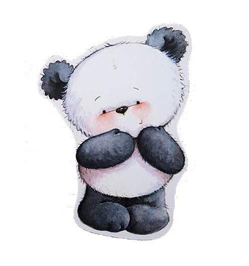 Διακοσμητικό μαγνητάκι αρκουδάκι Panda