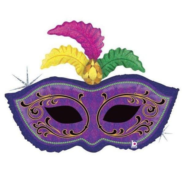 Μπαλόνι μάσκα Καρναβαλιού