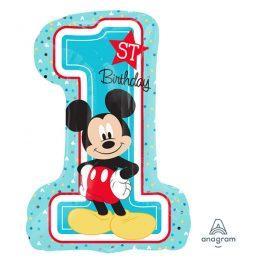 Μπαλόνι αριθμός 1 Mickey Mouse 71 εκ