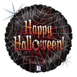 Μπαλόνι Ιστός Αράχνης Halloween 46cm