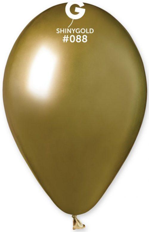 "12"" Shiny Χρυσό λάτεξ μπαλόνι"