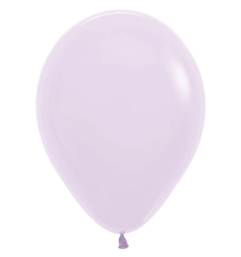 """12"""" ματ λιλά λάτεξ μπαλόνι"""