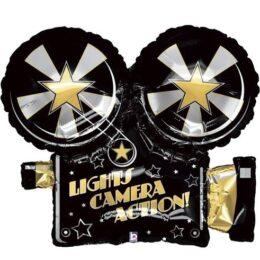 Μπαλόνι Lights Camera Action 81 εκ