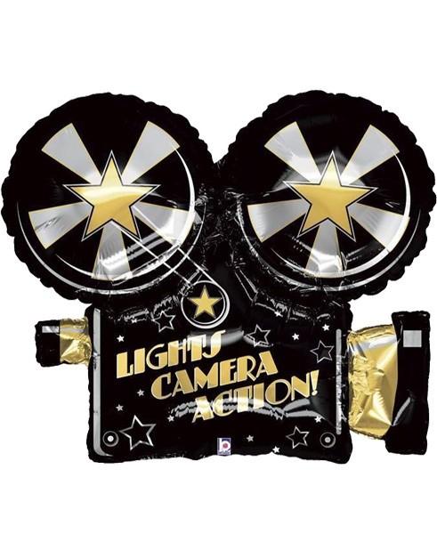 Μπαλόνι Lights Camera Action