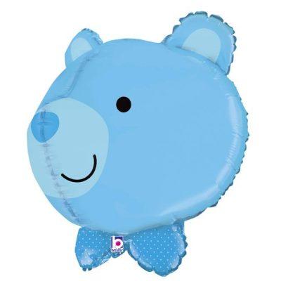 Μπαλόνι γαλάζιο Αρκουδάκι τρισδιάστατο