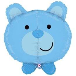 Μπαλόνι γαλάζιο Αρκουδάκι τρισδιάστατο 68 εκ
