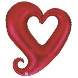 Μπαλόνι αγάπης Καρδιά κόκκινη 94 εκ