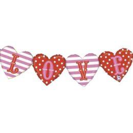 Μπαλόνι Love μπάνερ με καρδιές 119 εκ
