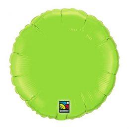 """Μπαλόνι λαχανί στρογγυλό 18"""""""