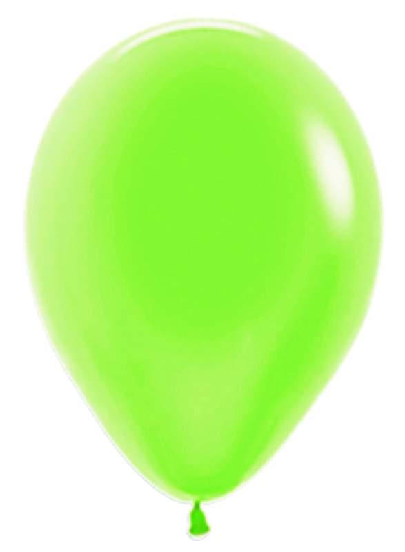 "12"" Neon Πράσινο λάτεξ μπαλόνι"