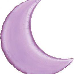 Μπαλόνι λιλά περλέ φεγγάρι 35″