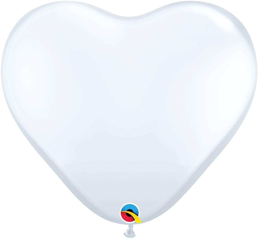 """36"""" Μπαλόνι τεράστια άσπρη καρδιά"""