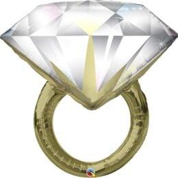 Μπαλόνι διαμαντένιο Δαχτυλίδι Γάμου 94 εκ
