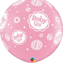 40″ μπαλόνι τυπωμένο Baby Girl